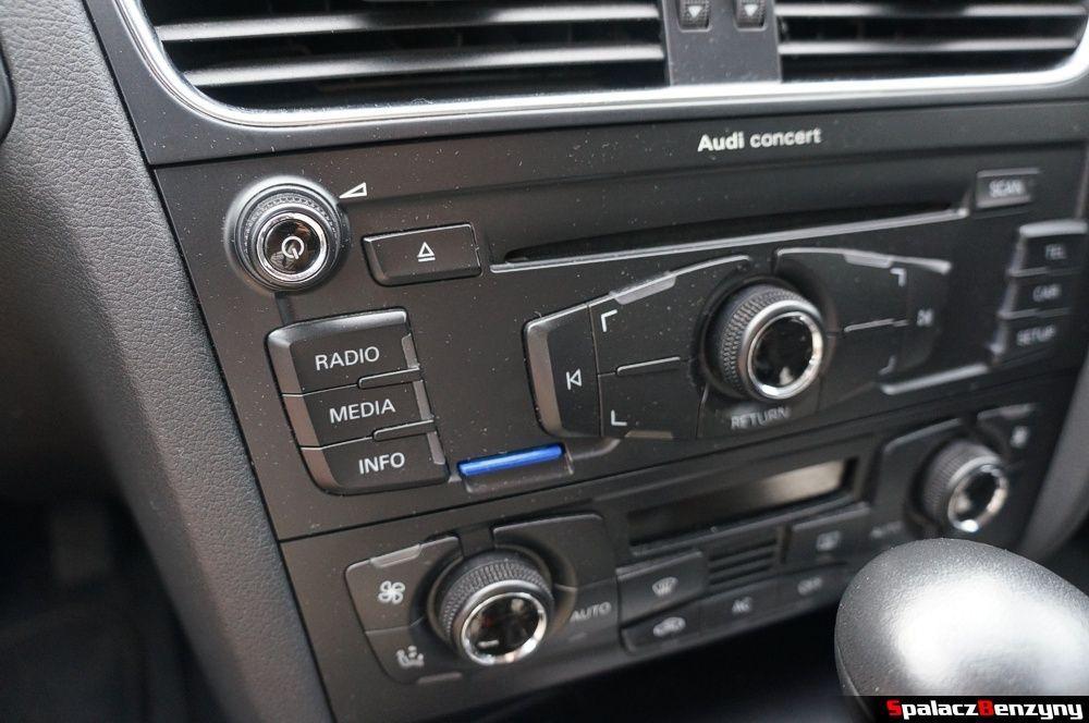 Radio Audi Concert w Audi A4 B8