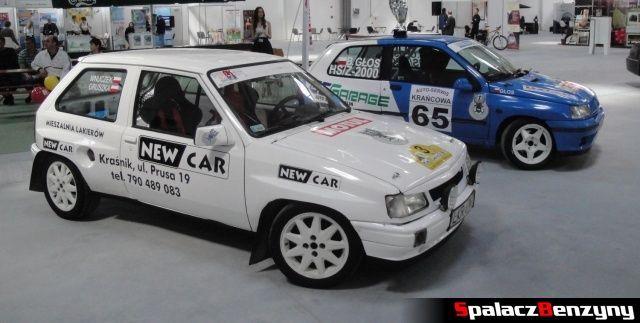 Rajdowe auta na Autosalon 2012 w Lublinie