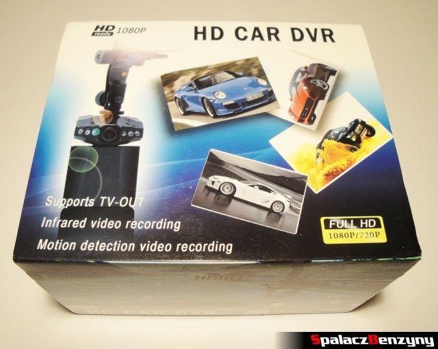 Rejestrator trasy HD CAR DVR 720p HDMI opakowanie 1