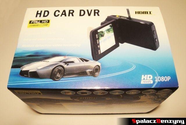 Rejestrator trasy HD CAR DVR 720p HDMI opakowanie 4