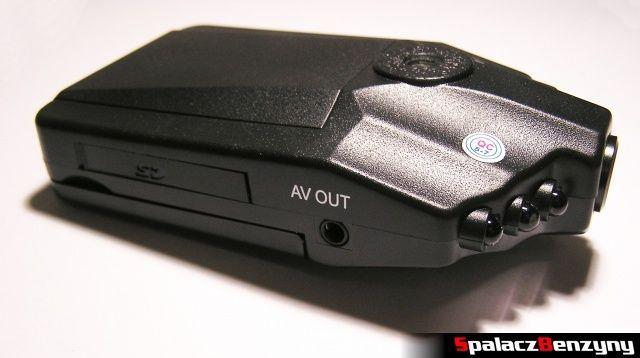 Rejestrator trasy HD CAR DVR 720p HDMI TV OUT i wejście SD