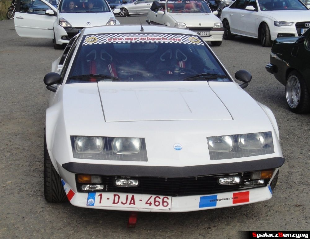 Renault Alpine A310 na Nurburgring Nordschleife