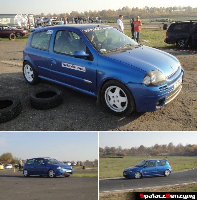 Renault Clio Sport na Rally Sprint Cemex 2012 w Lublinie