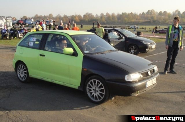 Seat Ibiza na Rally Sprint Cemex 2012 w Lublinie