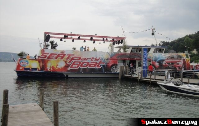 Seat Party Boat na Worthersee 2013