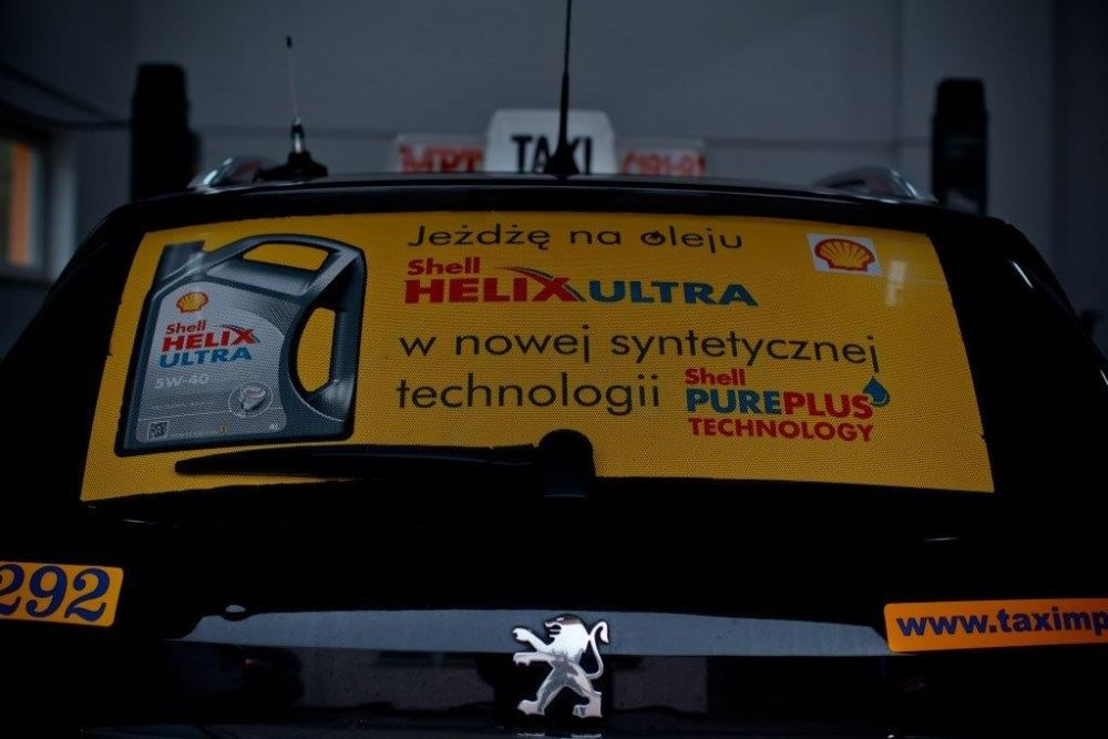 Shell Helix Taxi