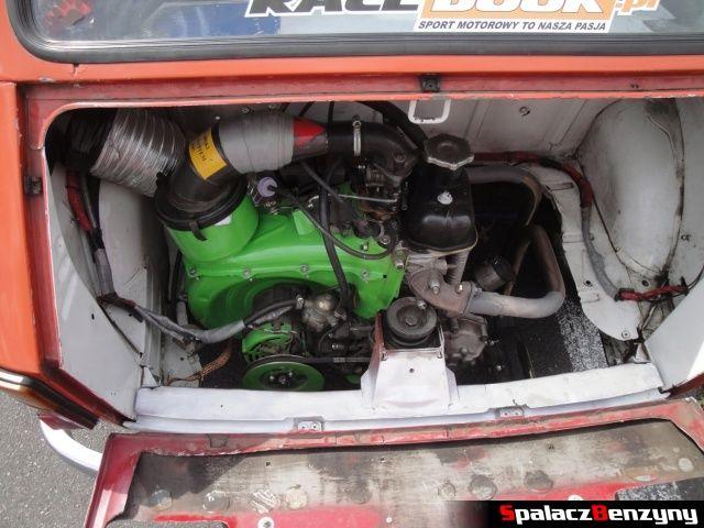 Silnik Fiata 126p na Rally Sprint Cartmax 2012 w Lublinie