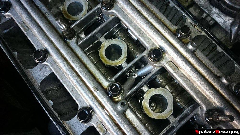 Silnik Honda Civic po wymienie Shell Helix Ultra