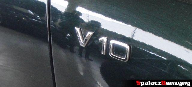 Silnik V10 w Audi S8 na Autosalon 2012 w Lublinie