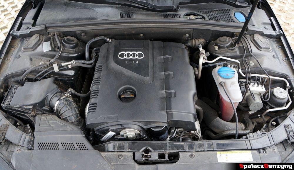 Silnik z osłoną 2.0 TFSI Audi A4 B8