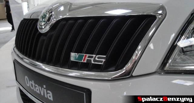 Skoda Octavia VRS na targach Autosalon 2012
