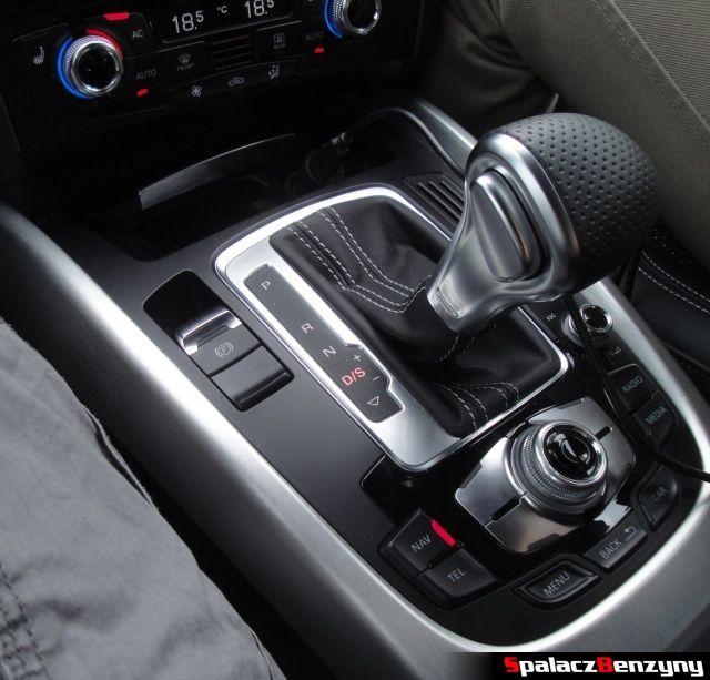 Skrzynia biegów tiptronic w Audi Q5 3.0 TFSI