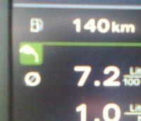 Spalanie benzyny 2.0 TFSI Audi quattro s-tronic