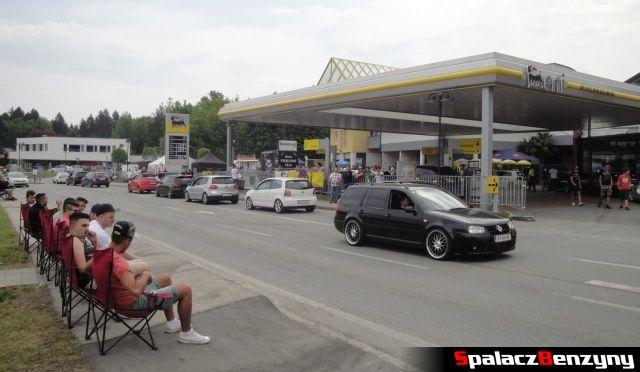 Stacja benzynowa Eni na Worthersee 2013