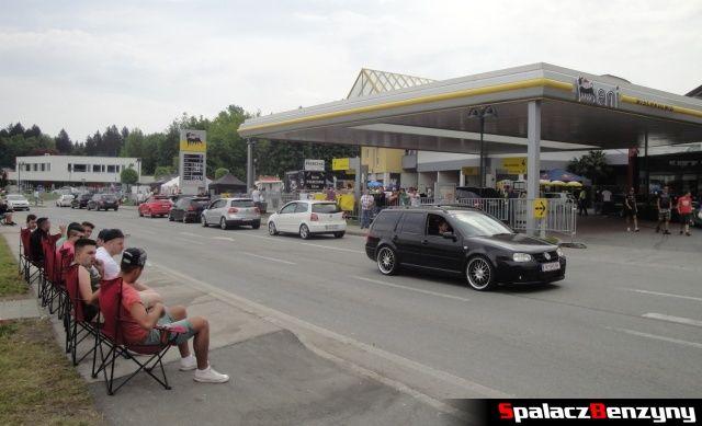 Stacja benzynowa Eni w Velden na Worthersee Tour 2013