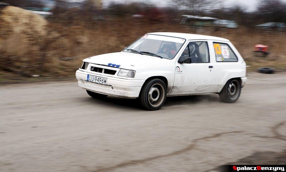 Start białe autko na RS Kulig 2014 Tor Lublin