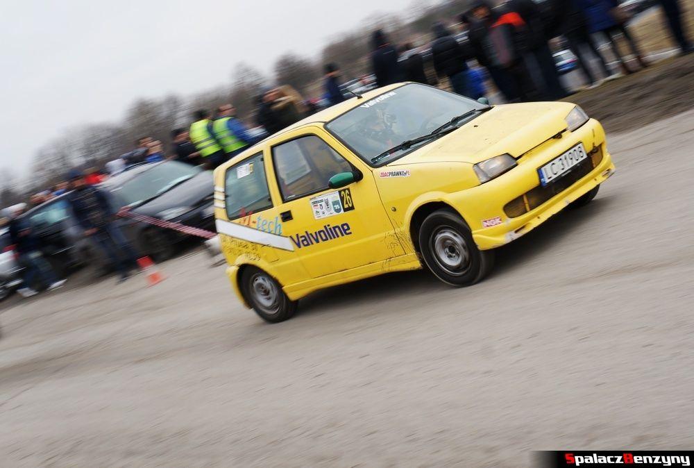 Start Fiat SC żółty na RS Kulig 2014 Tor Lublin