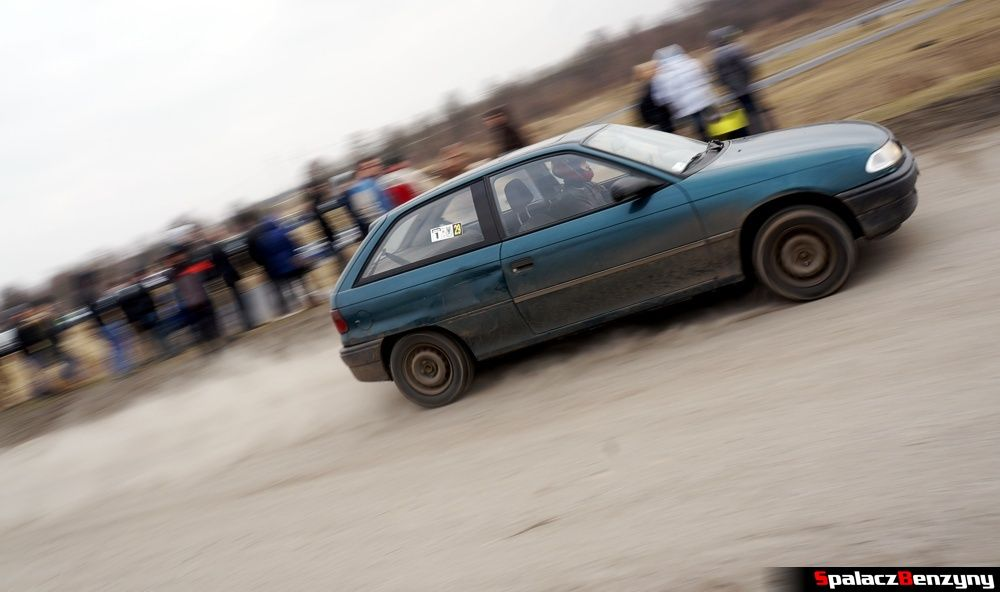 Start Opel Astra na RS Kulig 2014 Tor Lublin