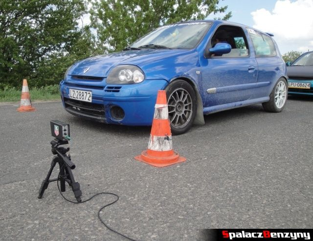 Start Renault Clio na Rally Sprint WORD 2012 w Lublinie