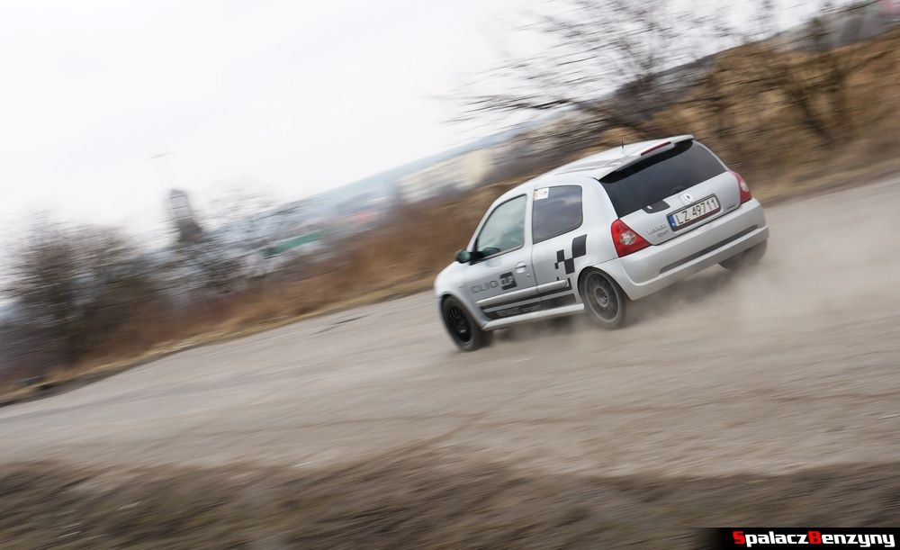 Start Renault Clio srebrny na RS Kulig 2014 Tor Lublin