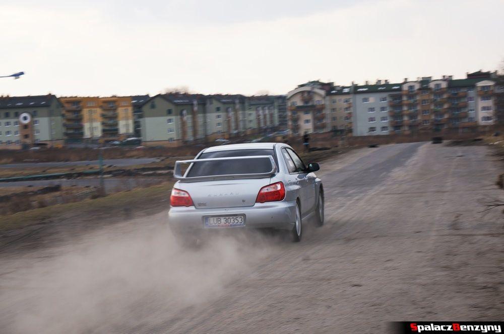 Start Subaru Impreza WRX na RS Kulig 2014 Tor Lublin