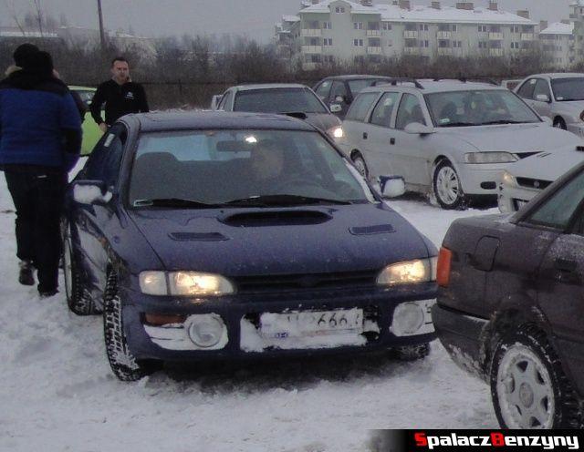 Subaru Impreza GT granatowa na RS Rally na Torze w Lublinie 2013