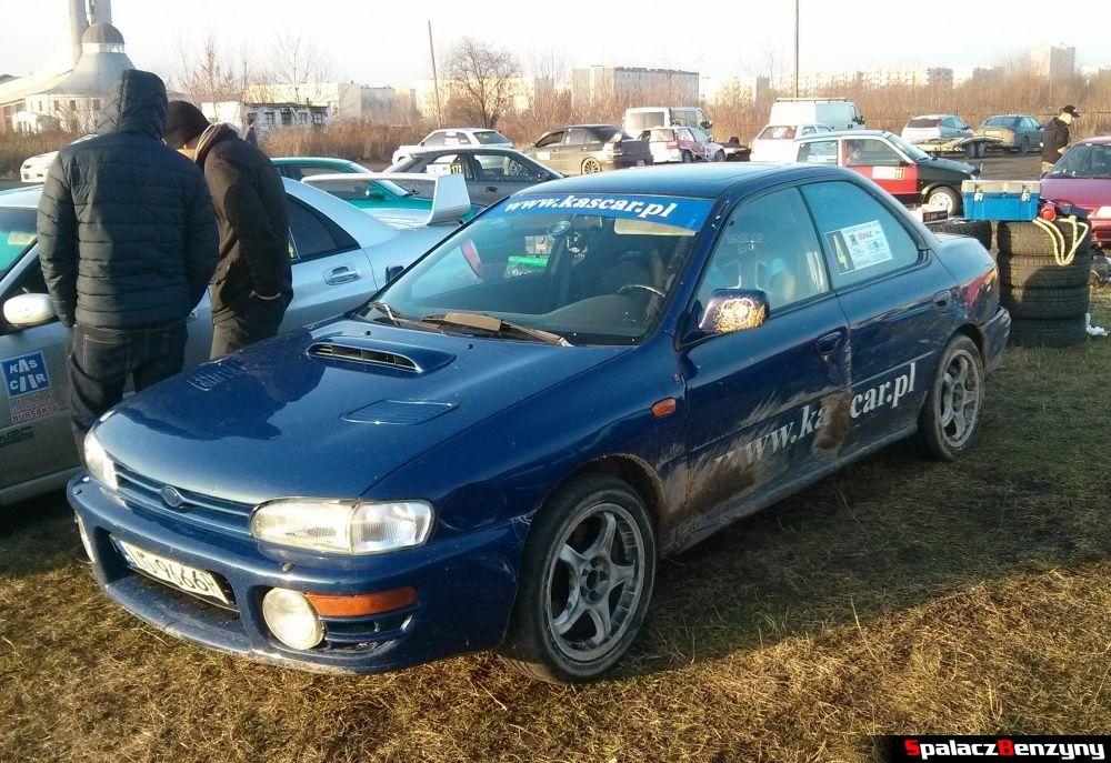 Subaru Impreza GT na Kryterium Asów 2013