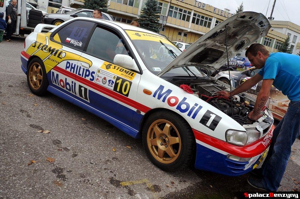 Subaru Impreza jak Hołowczyca na 10. rundzie SuperOES Tor Kielce 2014