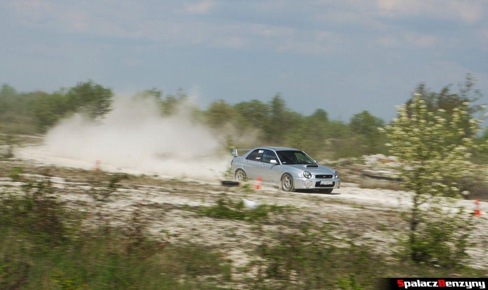 Subaru Impreza STI 1 na szutrowy RS Chełm 1 maja 2014