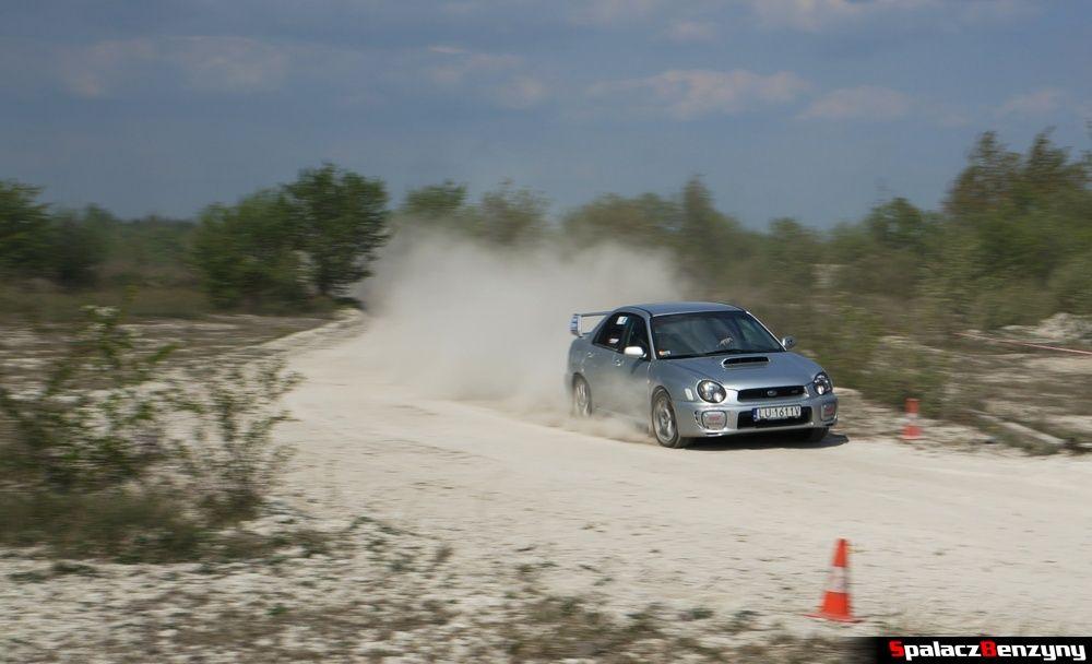 Subaru Impreza STI 3 na szutrowy RS Chełm 1 maja 2014