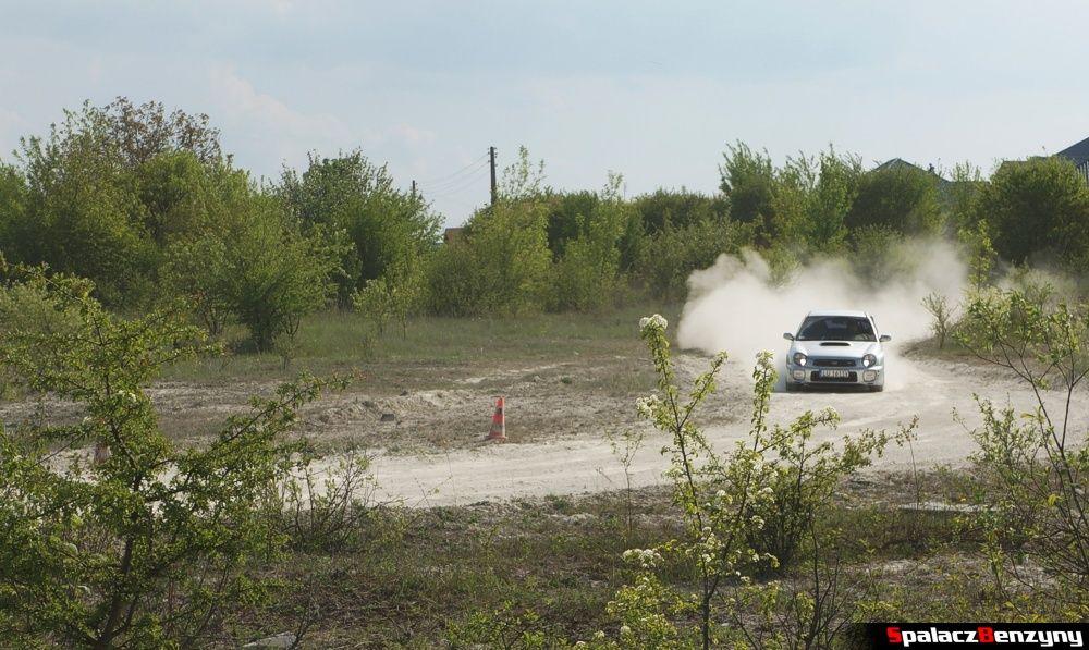 Subaru Impreza STI 5 na szutrowy RS Chełm 1 maja 2014