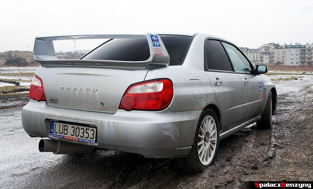 Subaru Impreza STI na Rally Sprint 9 luty 2014