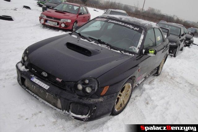 Subaru Impreza WRS STI czarna na RS Rally na Torze w Lublinie 2013