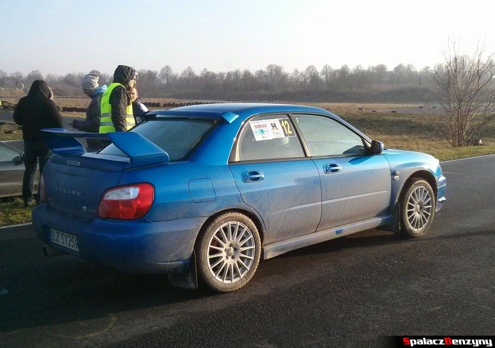 Subaru Impreza WRX na Kryterium Asów 2013