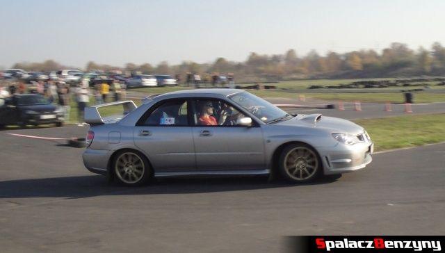 Subaru Impreza WRX STI na Rally Sprint Cemex 2012 w Lublinie