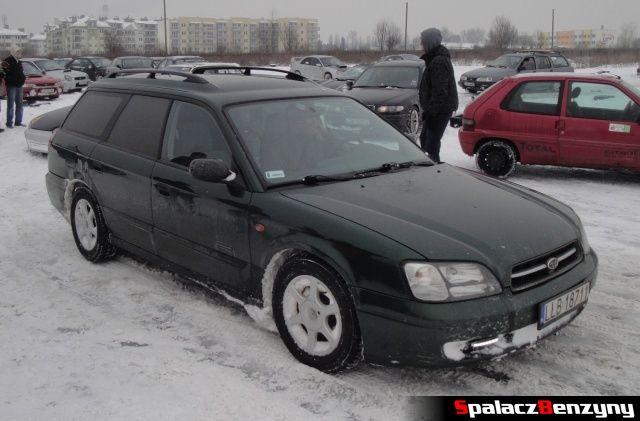 Subaru Legacy na RS Rally na Torze w Lublinie 2013