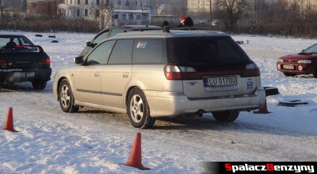 Subaru Legacy na RS WOŚP na Torze w Lublinie 2013