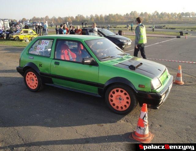 Suzuki Swift na starcie na Rally Sprint Cemex 2012 w Lublinie