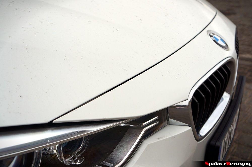 Szczelina maski BMW 316i 2013
