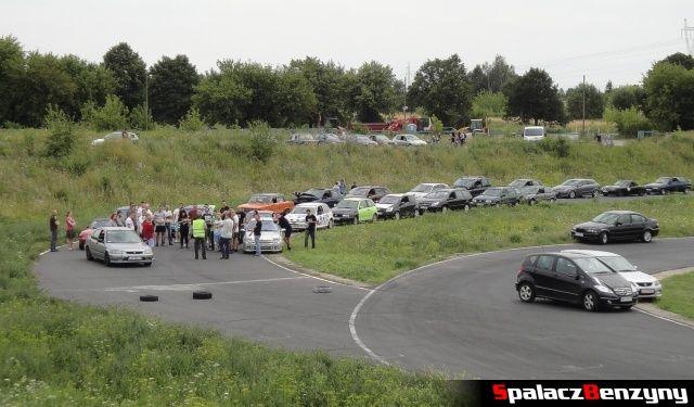 Szkolenie techniki jazdy przed RS Cartmax 2012 w Lublinie