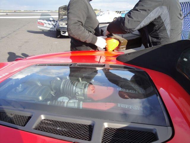 Tankowanie Ferrari F430