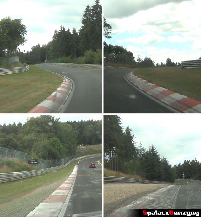 Tarki i wykończenia zakrętów na Nurburgring Nordschleife