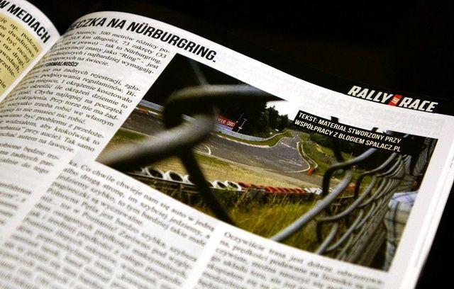 Tekst Nurburgring w Rally nad Race nr 8