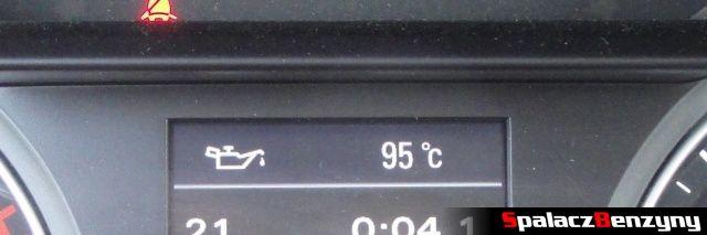 Temperatura oleju w MMI w Audi A4