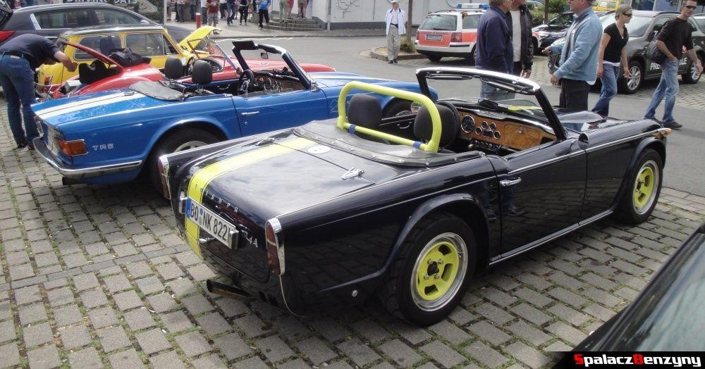 Triumph TR4 A i TR6 na Nurburgring Nordschleife