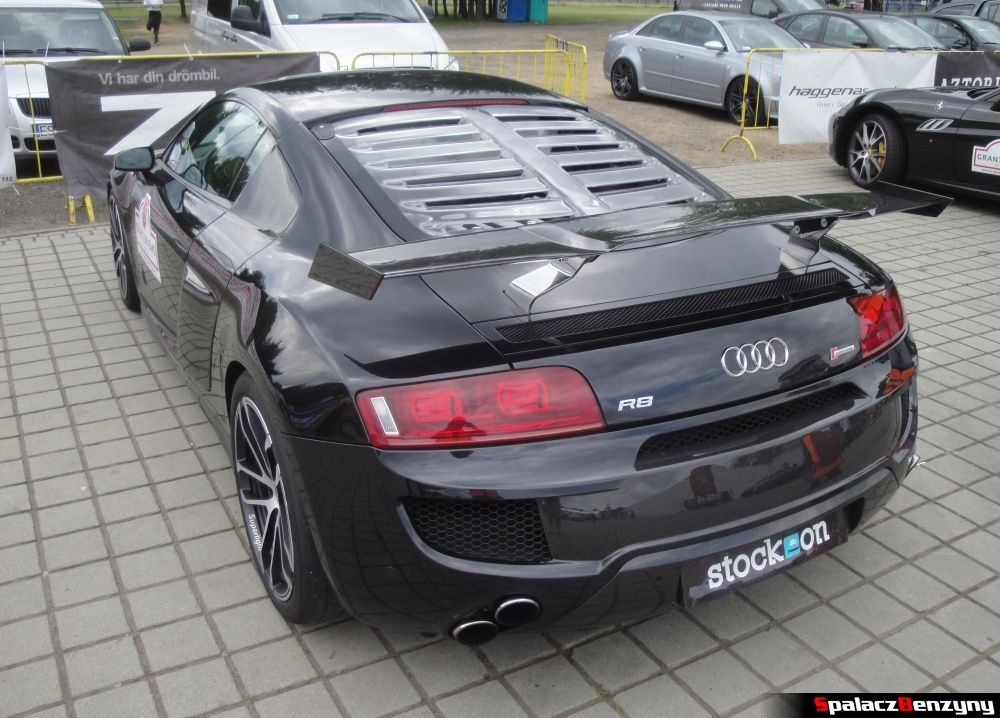 Tył Audi R8 V8 GTR na Gran Turismo Polonia 2013