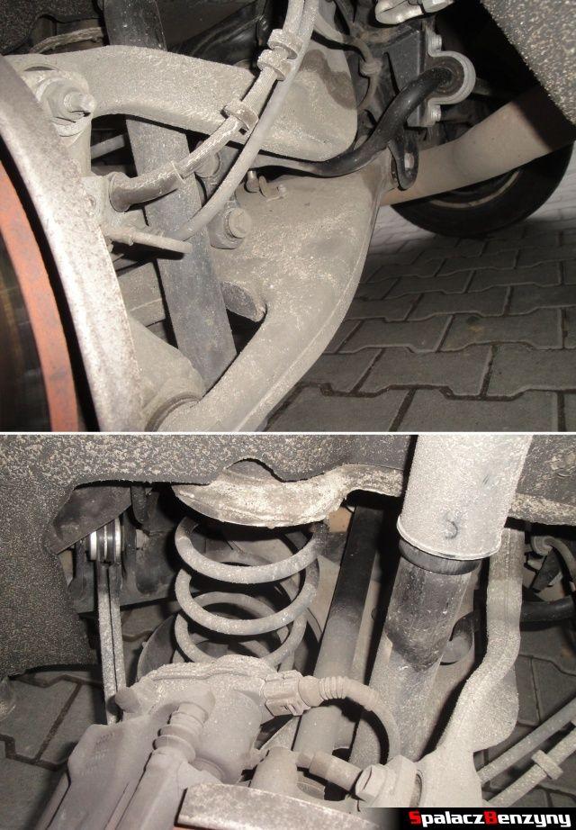 Tylne zawieszenie w Audi A4 B8