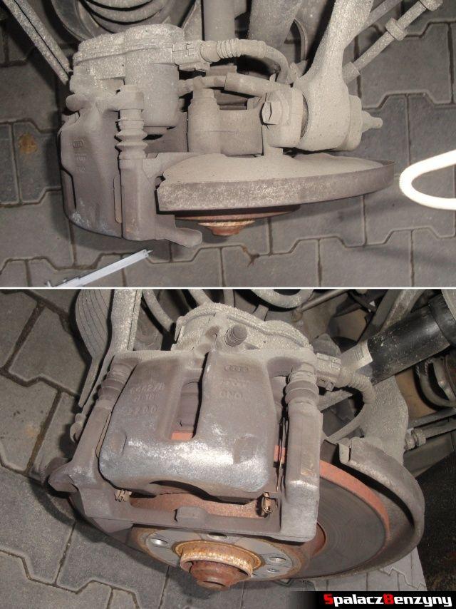 Tylny zacisk hamulcowy w Audi A4 B8
