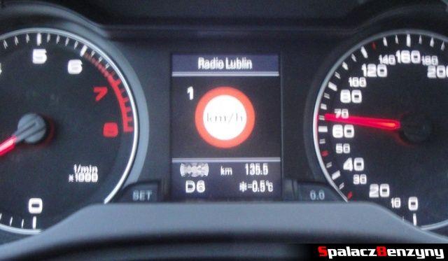 Ustawienie ograniczenie prędkości w Audi A4 B8
