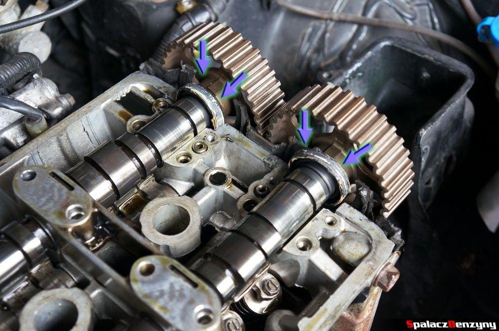 Uszczelniacze wałka rozrządu w Honda Civic